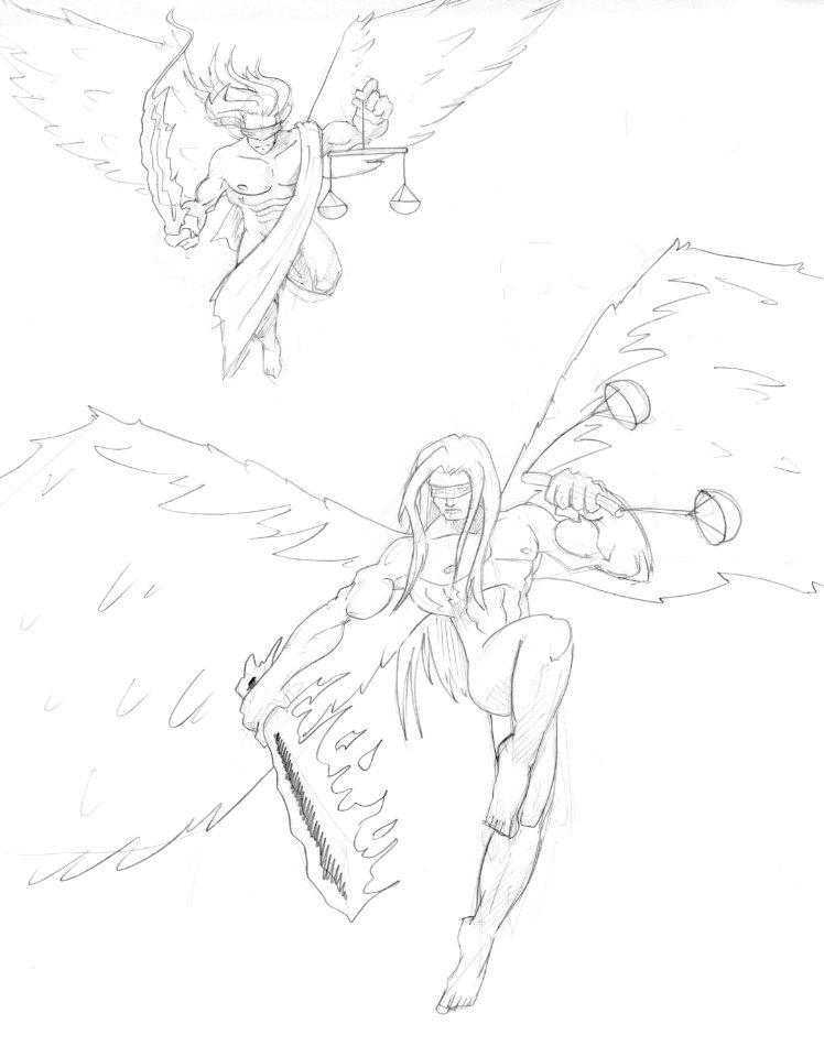 Avenging Angels by kingandy