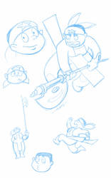 Beryl - sketches by kingandy