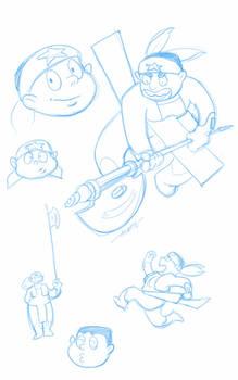 Beryl - sketches
