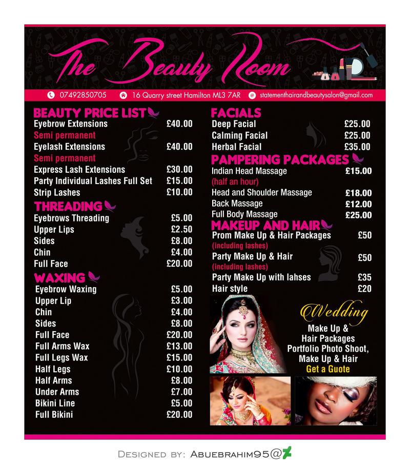 Beauty Room (Price List) by abuebrahim95