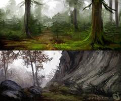 Landscape studies 091213 by Noukah