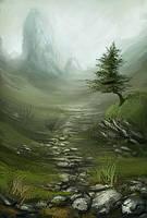 landscape study 091221 by Noukah