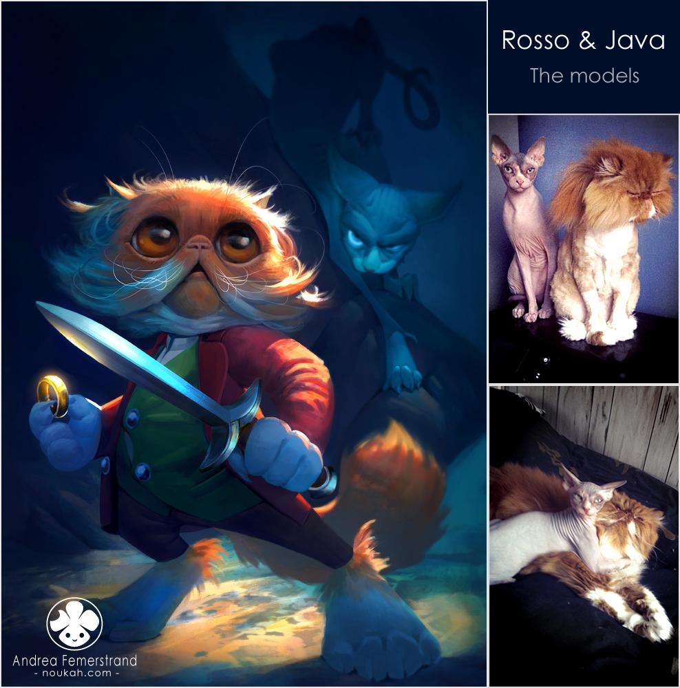 The Hobbit fanart - the Cat version