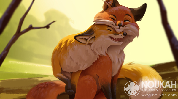 Day of the fox by Noukah