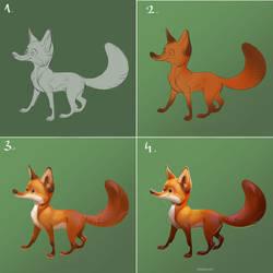 Steps of Mr Foxy