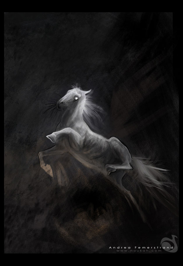 Grey ghosty looks - finished by Noukah