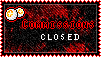 Point Commissions Closed stamp by D3lDARA-Resources