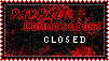 Paypal Commissions Closed stamp