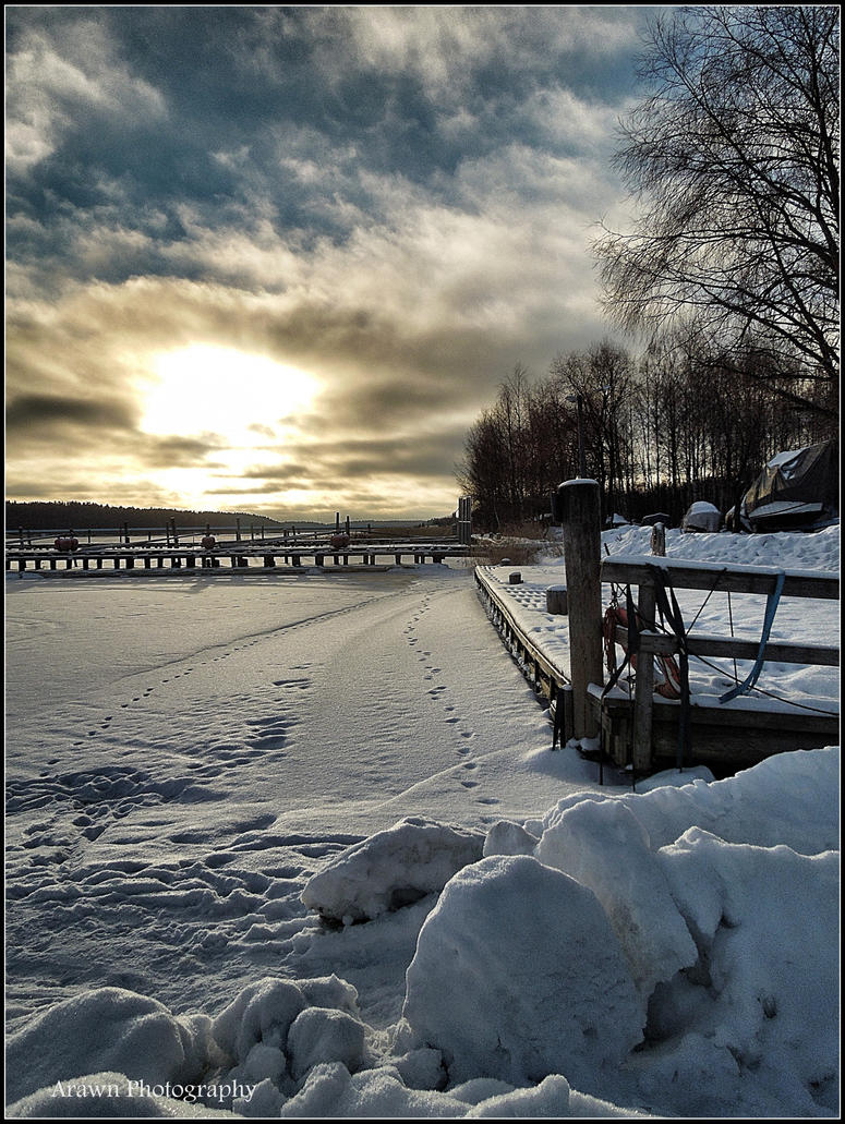 Finnish January by Arawn-Photography