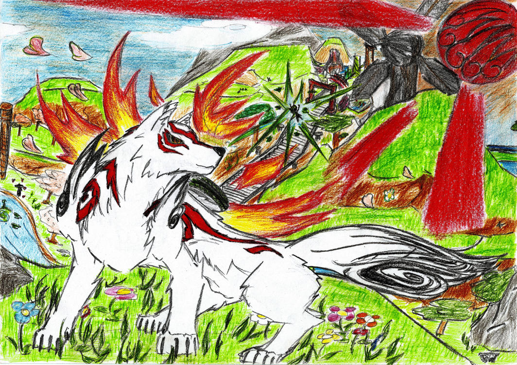Okami - Taka Pass by DestinySpider