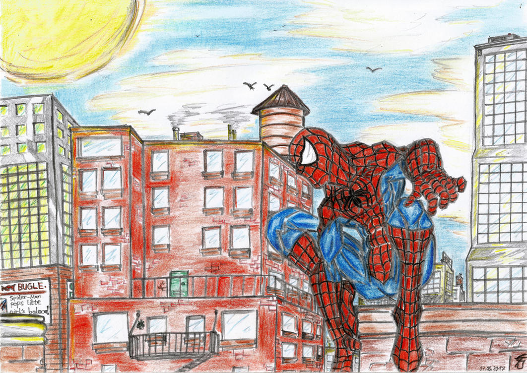Your Friendly Neighborhood Spider-Man by DestinySpider
