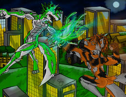 Battle of the Nephilim