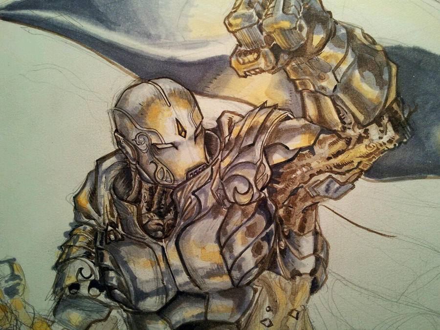 Warforged - WIP by dreamflux1