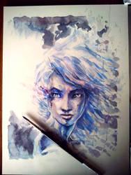 Study in Blue by dreamflux1