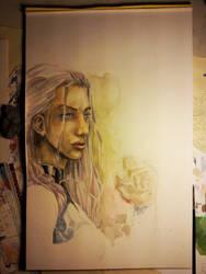 Psylocke - work in progress. by dreamflux1