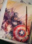 Captain America - Work in Progress.