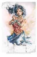 Wonder Woman by dreamflux1