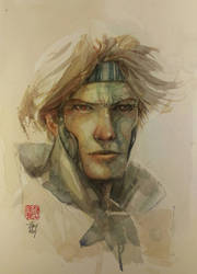 Gambit in Watercolor by dreamflux1