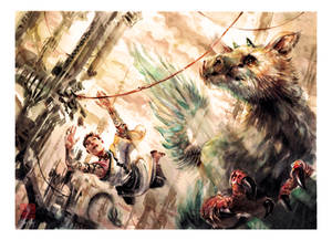 The Last Guardian - Watercolor