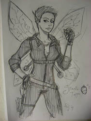 Holly Short Sketch by Inyade