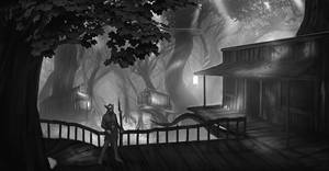 Swamp housing