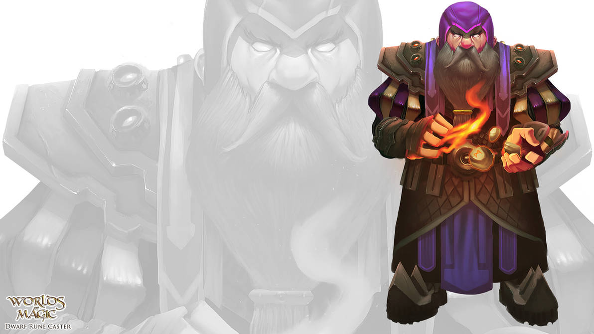 Dwarf Rune Caster