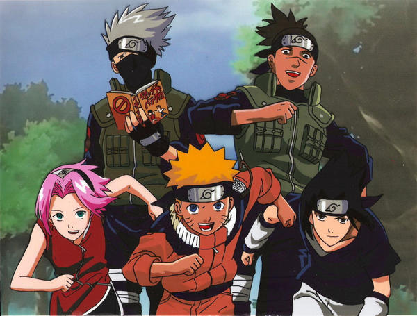 fancell2 Naruto team7 by hiroshii