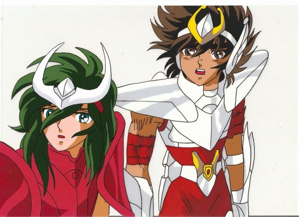 Seiya and Shun by hiroshii