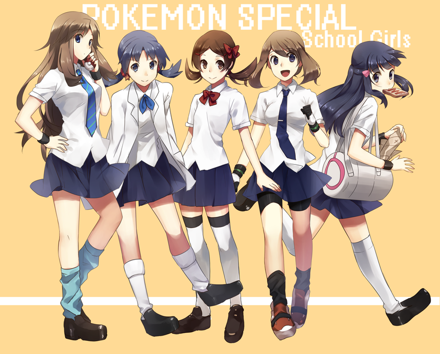 Spring party! Pokemon_school_girls_by_twannybizzle-d3hhlyf
