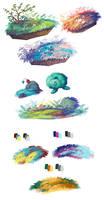 Grassy doodles