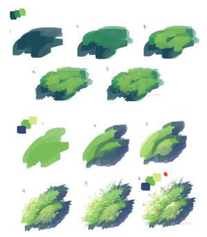 Grass process