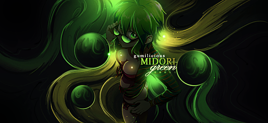 Midori - Smudge by Hyorie