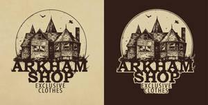 Arkham shop logo