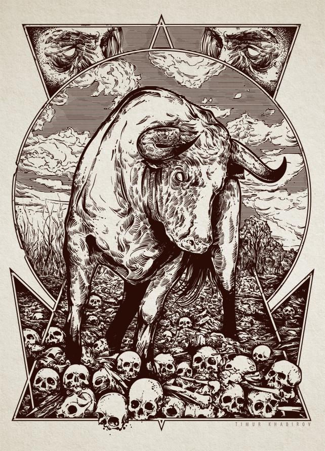 Bull by TimurKhabirov
