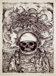 Space and Evil by TimurKhabirov