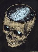 Skull galaxy1 by TimurKhabirov