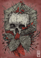 leaf skull 2 by TimurKhabirov