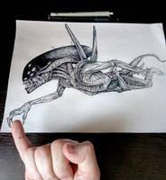 Alien by TimurKhabirov