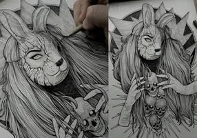 Bunnymask by TimurKhabirov