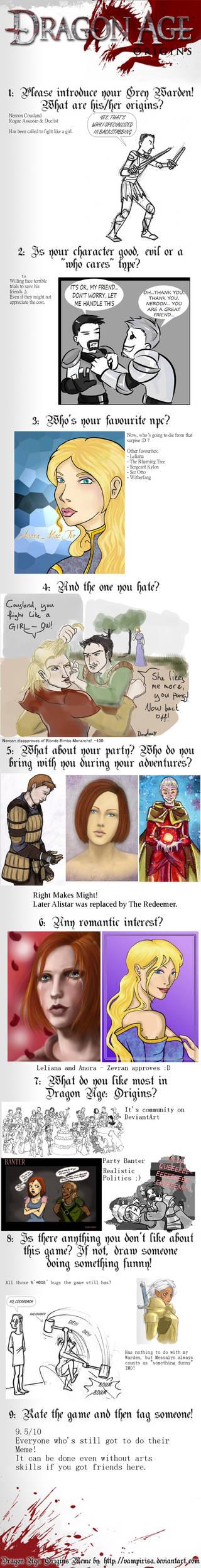 Dragon Age Meme