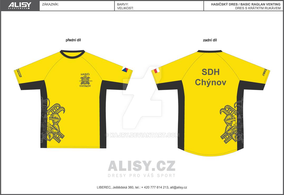 SDH Chynov - dres / jersey by Kajry