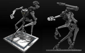 Tribot Mk.1 by EbonNebula
