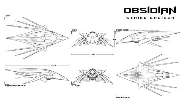Obsidian Strike Cruiser