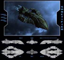 Amarr Sanctifier Battleship