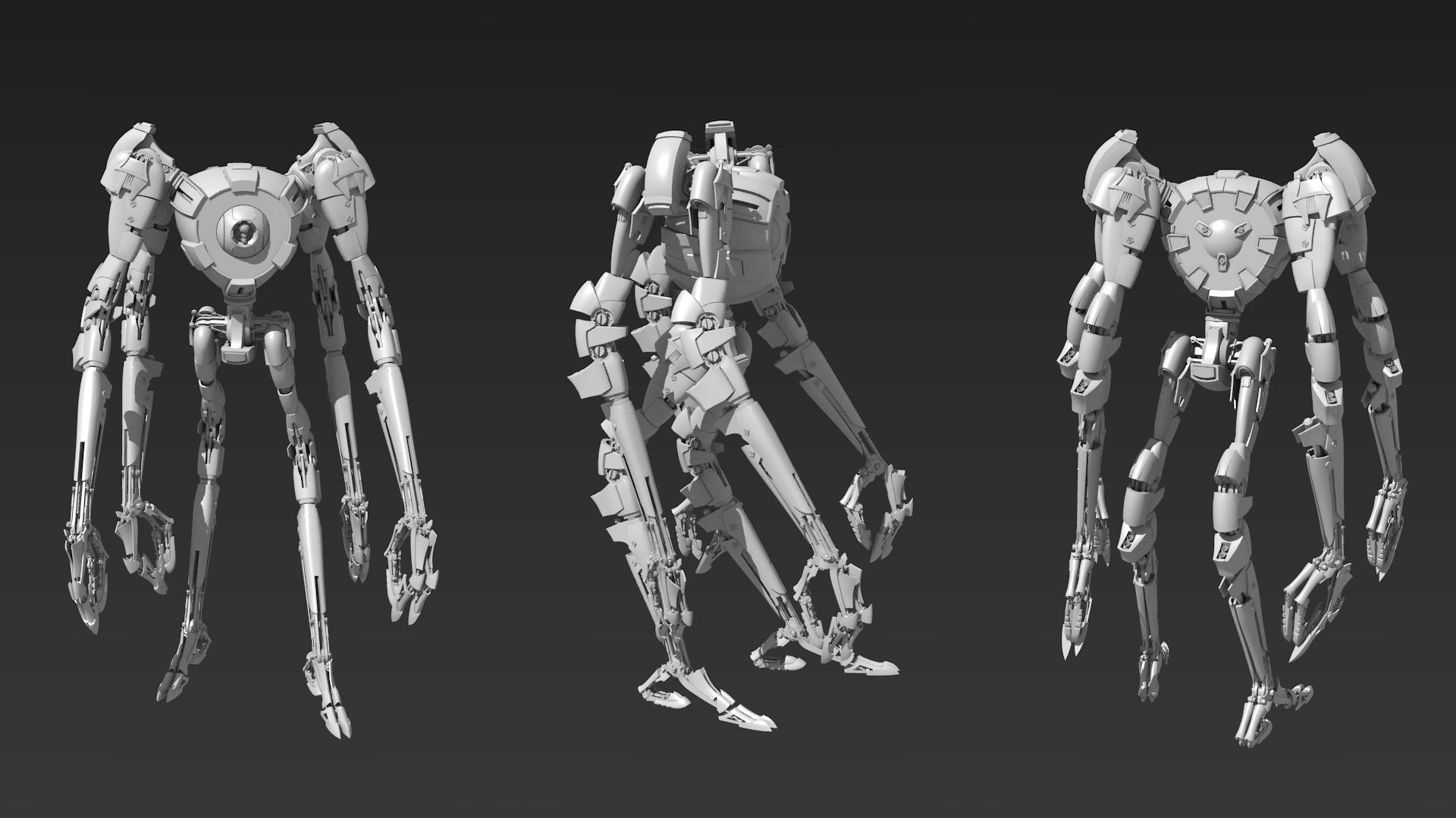 Tribot Mk.2 by EbonNebula