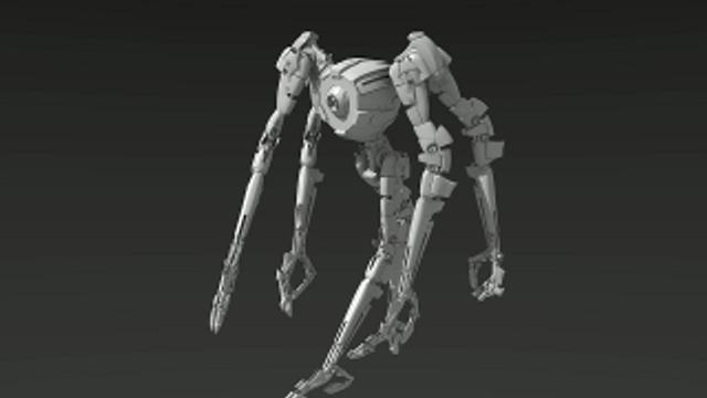 Tribot mk.2 Animated demo by EbonNebula