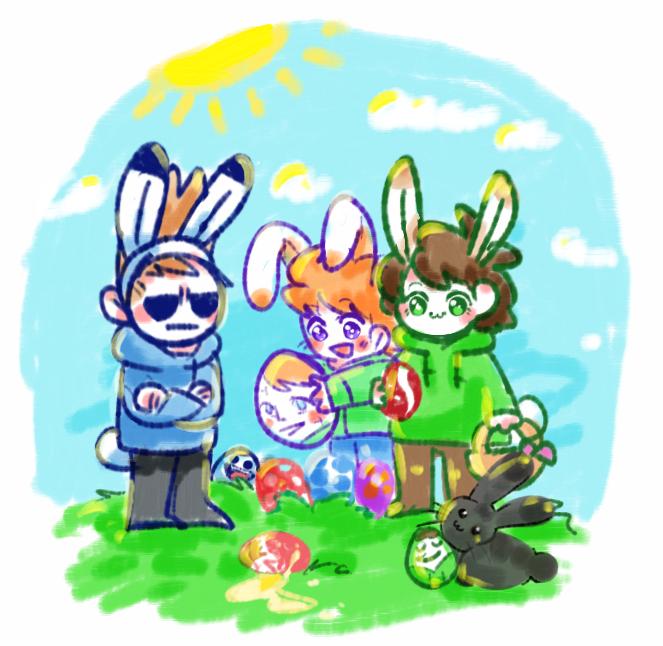 Easter edds by huslu