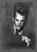 Kirk Douglas by wooden-horse
