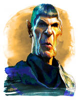 Spock by wooden-horse
