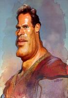 Charlton Heston as Ben-Hur by wooden-horse